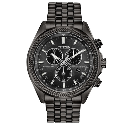 Picture of Citizen Men's Brycen Eco-Drive Black Watch with Black Dial