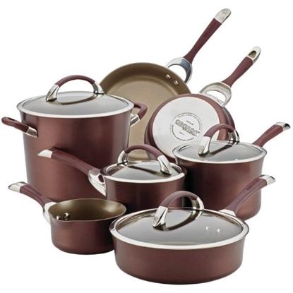 Picture of Circulon® Symmetry Merlot 11-Piece Cookware Set