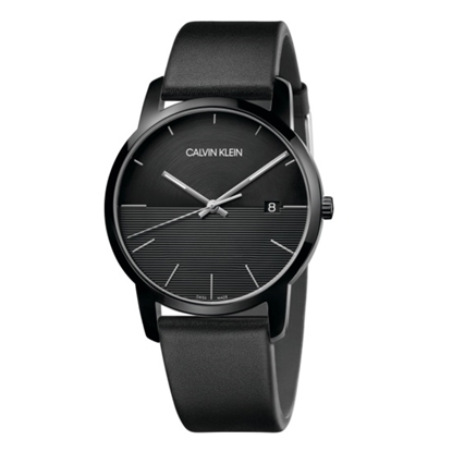 Picture of Calvin Klein City 43mm Black Leather Watch