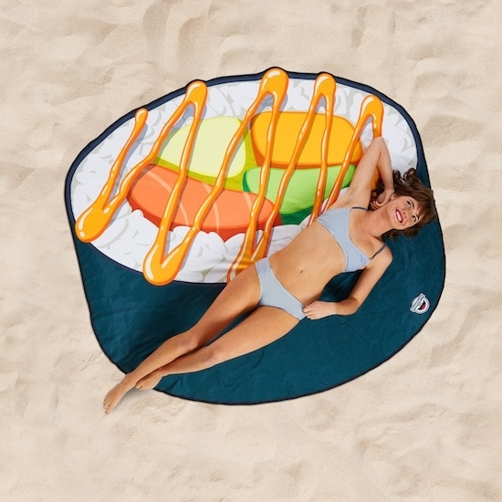 Picture of BigMouth Sushi Beach Blankets - Set of 2