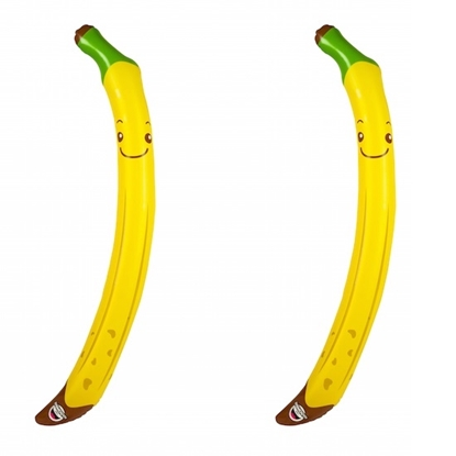 Picture of BigMouth Banana Inflatable Pool Noodles - Set of 4