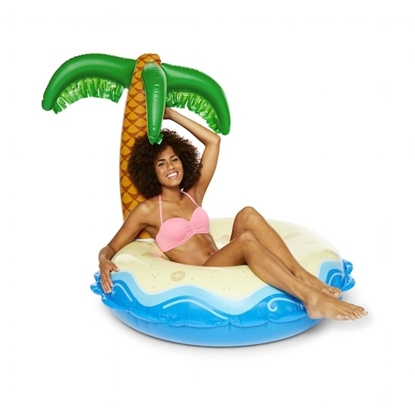 Picture of BigMouth Palm Tree Pool Floats - Set of 2