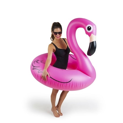 Picture of BigMouth Pink Flamingo Pool Floats - Set of 2