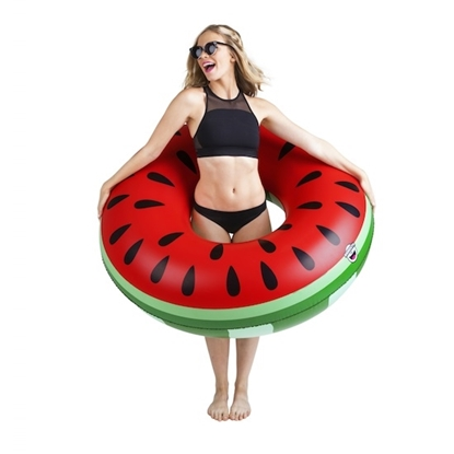Picture of BigMouth Giant Watermelon Slice Pool Floats - Set of 2