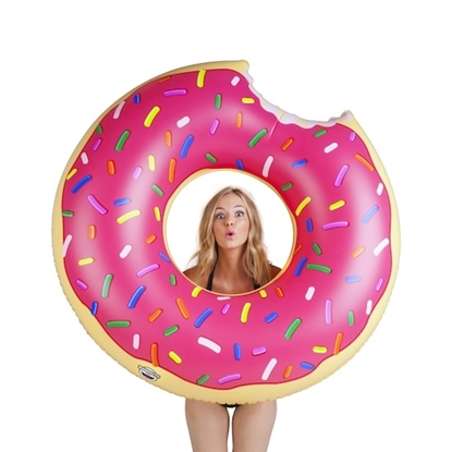 Picture of BigMouth Strawberry Donut Floats with Beverage Boats