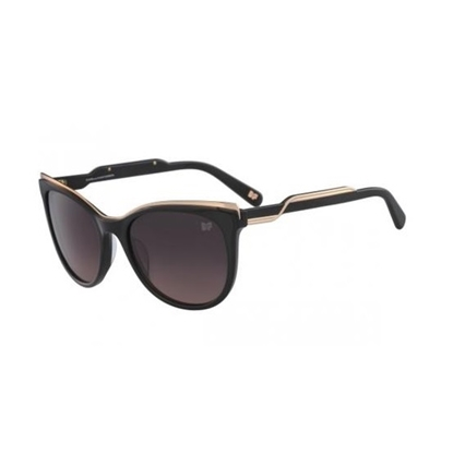 Picture of DVF Annabelle Cat Eye Sunglasses - Black