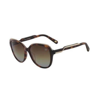 Picture of DVF Claire Cat Eye Sunglasses - Soft Tortoise