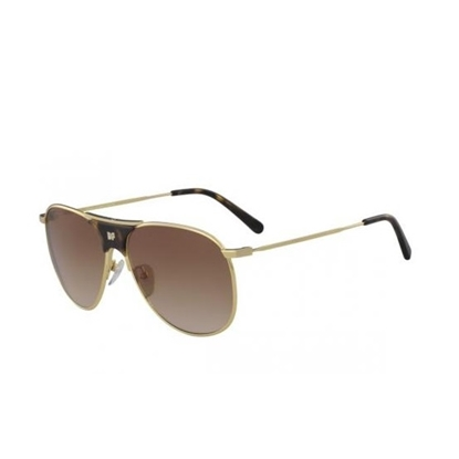 Picture of DVF Fiona Aviator Sunglasses - Dark Tortoise
