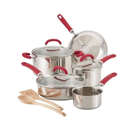 Picture of Rachael Ray Create Delicious 10PC Stainless Set
