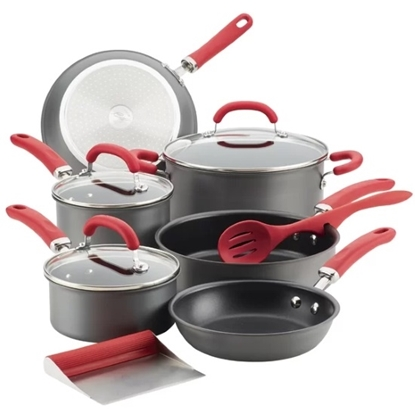 Picture of Rachael Ray Create Delicious 11PC Anodized Set