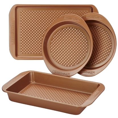 Picture of Farberware Colorvive 4-Piece Bakeware Set
