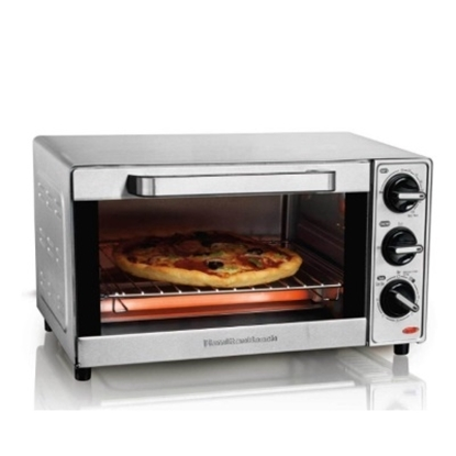 Picture of Hamilton Beach® Four-Slice Stainless Steel Toaster Oven