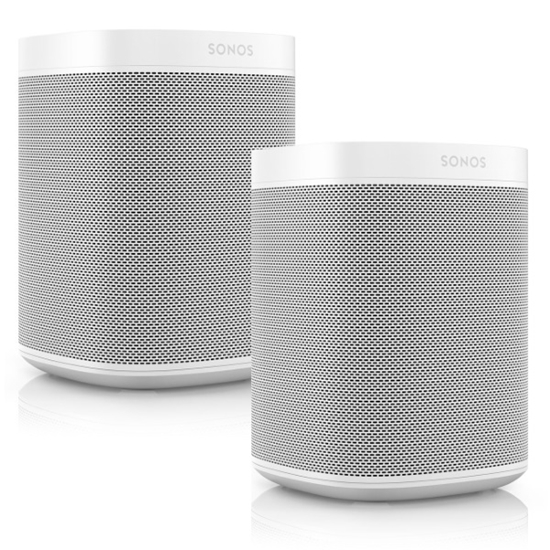 Picture of Sonos One Gen 2 Voice-Controlled Set of 2 Smart Speakers