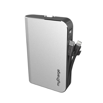 Picture of MyCharge HUBMAX Universal 10,050mAh Charger w/ USB & Lightning