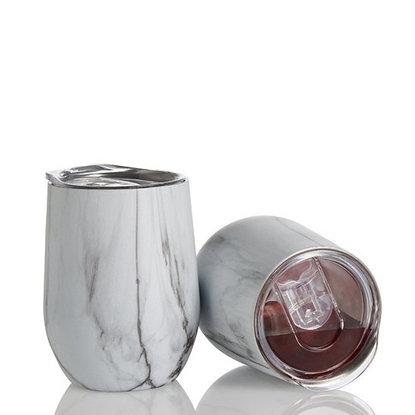 Picture of Wine Enthusiast® Marble Tumblers - Set of 2