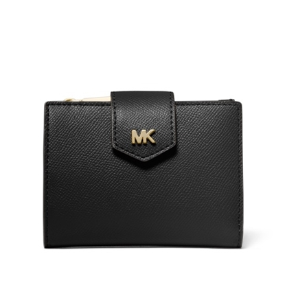 Picture of Michael Kors Small Snap Bifold - Black