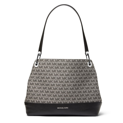Picture of Michael Kors Raven Large Shoulder Tote - Graphite
