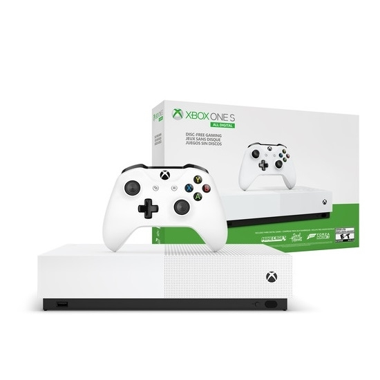 Picture of Xbox One S Discless System with Controller & Xbox Live Gold