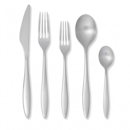 Picture of Royal Doulton Ellen DeGeneres Classic Brushed 20PC Flatware