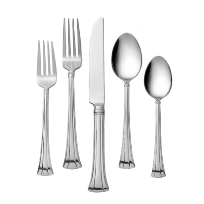 Picture of Waterford Mont Clare Stainless 65-Piece Flatware Set
