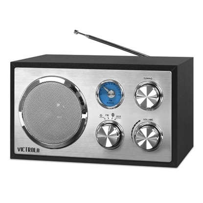 Picture of Victrola Houston Wooden Desktop Bluetooth® Radio