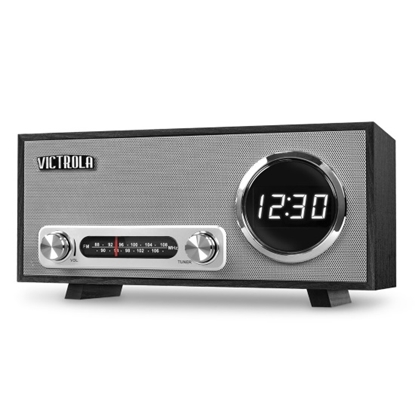 Picture of Victrola Bluetooth® Digital Clock Stereo with FM Radio