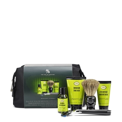 Picture of The Art of Shaving Travel Kit with Razor - Bergamot & Neroli