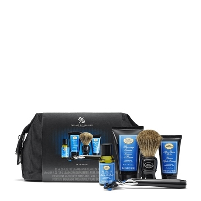 Picture of The Art of Shaving Travel Kit with Razor - Lavender