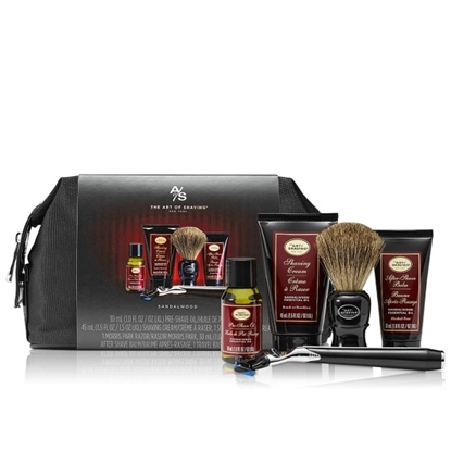Picture of The Art of Shaving Travel Kit with Razor - Sandalwood
