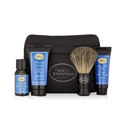 Picture of The Art of Shaving Starter Kit with Bag - Lavender