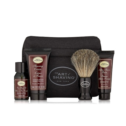 Picture of The Art of Shaving Starter Kit with Bag - Sandalwood