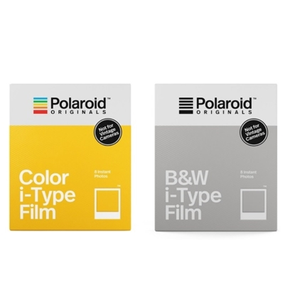 Picture of Polaroid Color & Black/White Film Bundle for i-Type Camera
