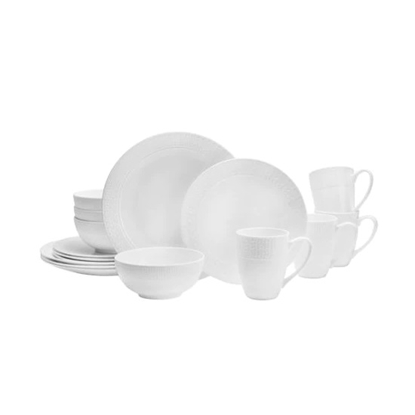 Picture of Mikasa Abbey 16-Piece Bone China Dinnerware Set