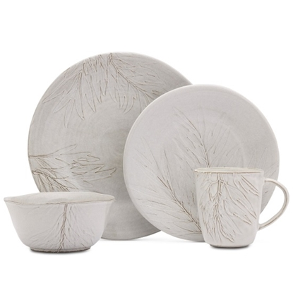 Picture of Mikasa Arya White 16-Piece Dinnerware Set