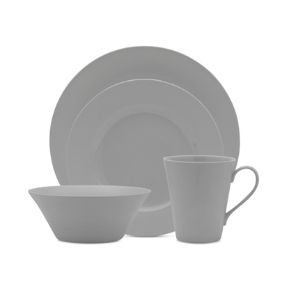 Picture of Mikasa Delray Grey 16-Piece Dinneware Set