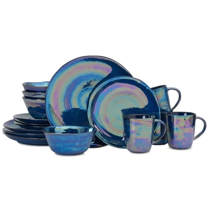 Picture of Mikasa Coronado Cobalt 16-Piece Dinnerware Set