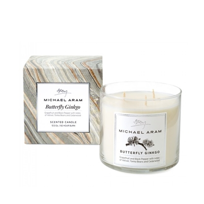 Picture of Michael Aram Butterfly Ginkgo Scented Candle