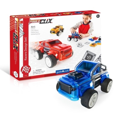 Picture of Guidecraft PowerClix Racers Design Set
