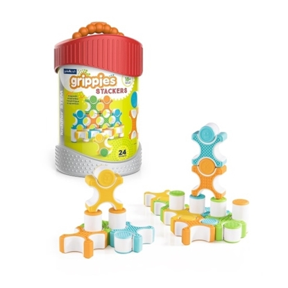 Picture of Guidecraft Grippies Stackers 24-Piece Set