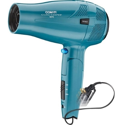 Picture of Conair 1875W Cord Keeper Hair Dryer - Blue