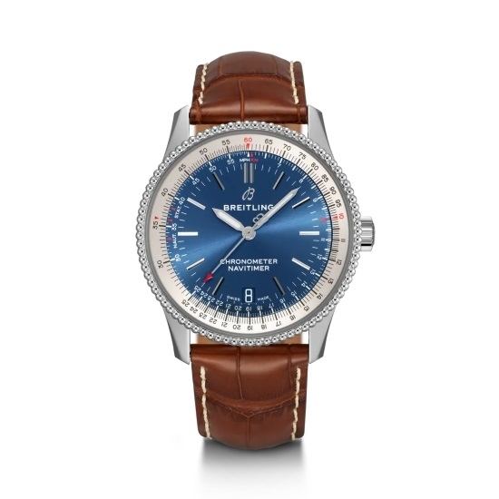 Picture of Breitling Navitimer 1 Auto 38 - Brown Leather Strap