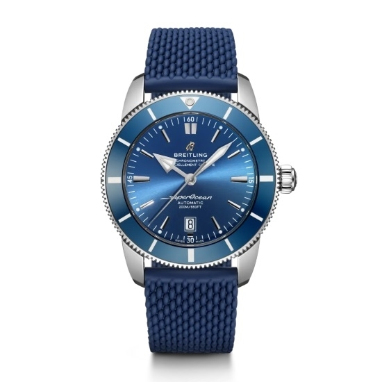 Picture of Breitling Superocean Heritage II B20 Auto 46 - Blue Dial/Strap
