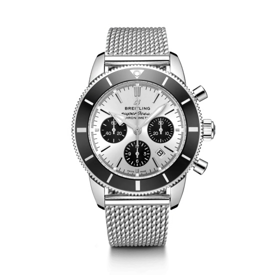Picture of Breitling Superocean Heritage II B01 Chrono 44 - Steel/Silver