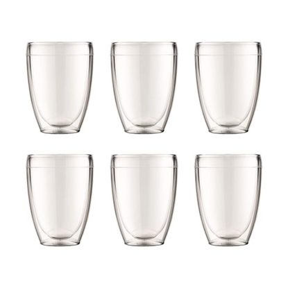Picture of Bodum 12oz. Double Wall Pavina Outdoor Glasses - Set of 6