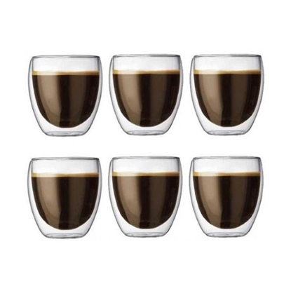 Picture of Bodum 8oz. Double Wall Pavina Outdoor Glasses - Set of 6