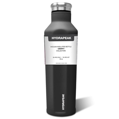 Picture of HydraPeak 25oz. Stainless Steel Grippy Water Bottle