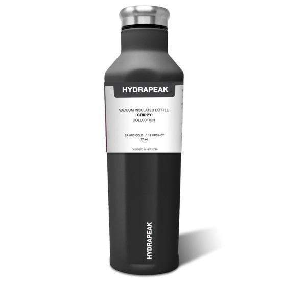 Picture of HydraPeak 25oz. Stainless Steel Grippy Water Bottle