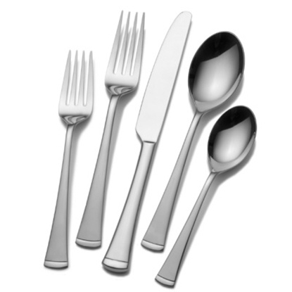 Picture of Mikasa Gourmet Basics Contempo 20-Piece Flatware Set