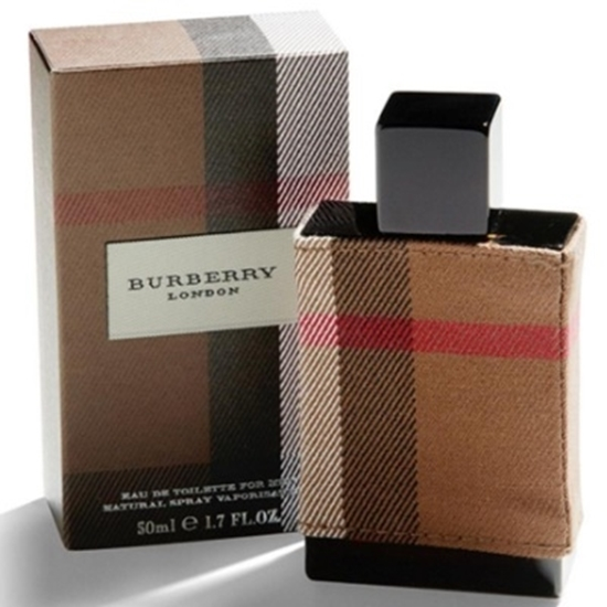 Picture of Burberry New London Men's Eau De Toilette - 1.7oz