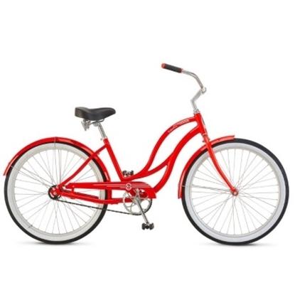 Picture of Schwinn® Signature ALU 1 Women's Cruiser - Red